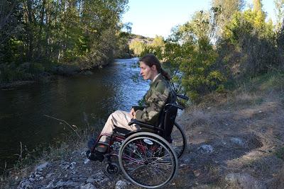 Lance sobre silla de ruedas.