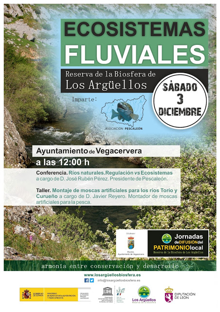 Conferencia. Pescaleón, ríos en la Reserva de los Argüellos.
